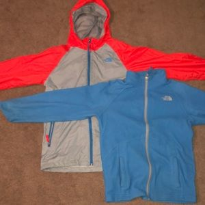 North face Hoodie and Jacket